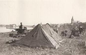 Flak allemand à Visé en 1940