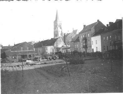 La Collégiale de Visé en 1940