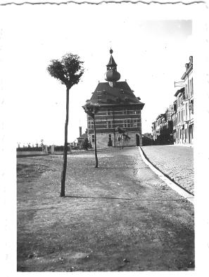 l'Hôtel de ville de Visé en 1940