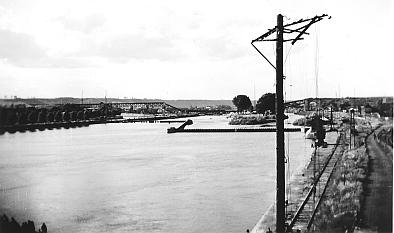 Visé,Le pont des Allemands détruit