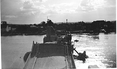 le pont de Visé détruit en 1940