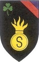 insigne de la 4e Brigade d'Irlande Brigade d'infanterie S Grenadiers